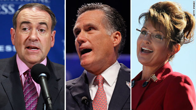 Poll: Issues split 2012 GOP frontrunners