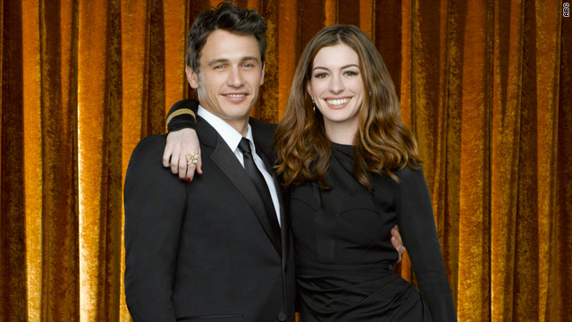 James Franco and Anne Hathaway re-enact 'Grease'