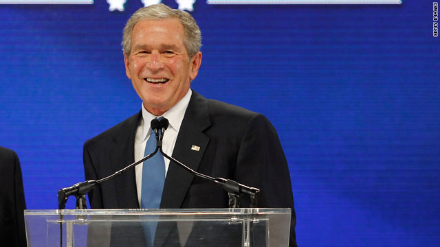Bush sees positives for U.S. in Egypt, Arab Spring
