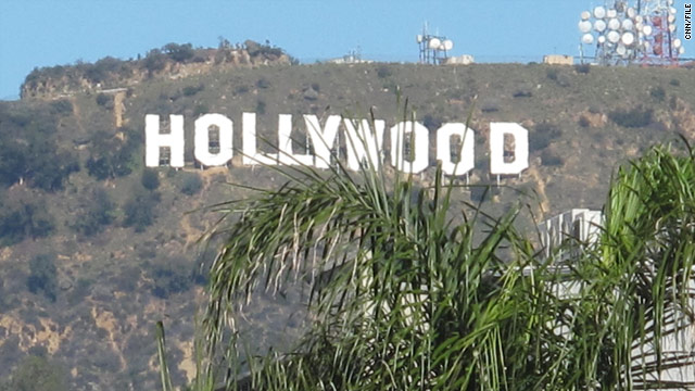 Snow could fall on Hollywood sign