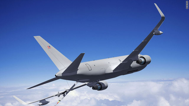 Boeing wins contract to make Air Force tanker