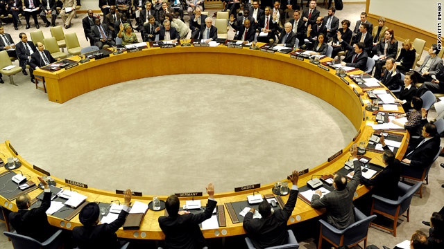 U.N. security panel votes to impose more sanctions against Libya