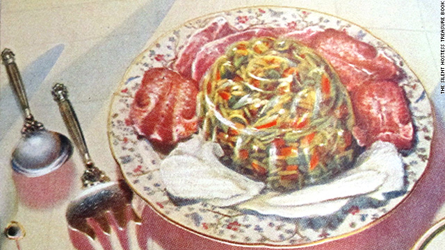 Vintage Cookbook Vault: Aspic supper salad challenge