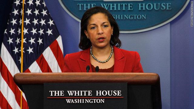 "U.S. Ambassador to U.N. calls Gadhafi ""delusional"""