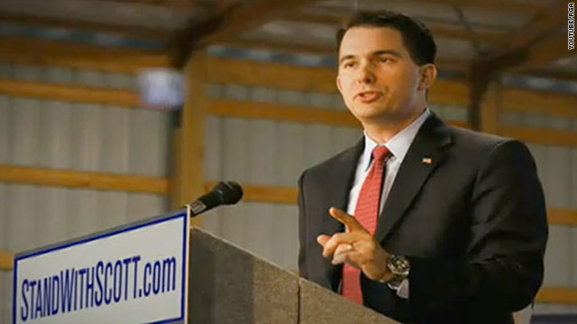 GOP group launches pro-Walker ad in Wisconsin