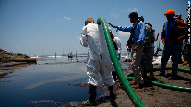 NIH will study health of Gulf oil disaster cleanup workers