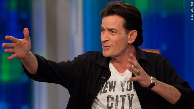 Charlie Sheen enters the Twittersphere with a bang
