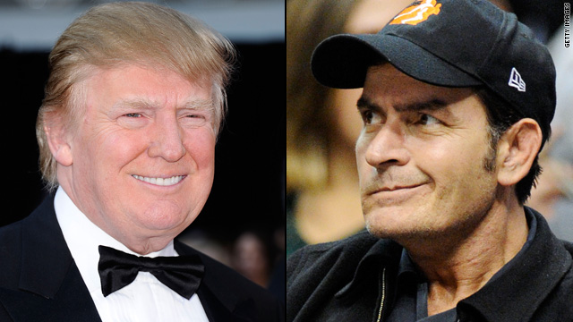 Trump: Sheen's 'a different kind of guy'