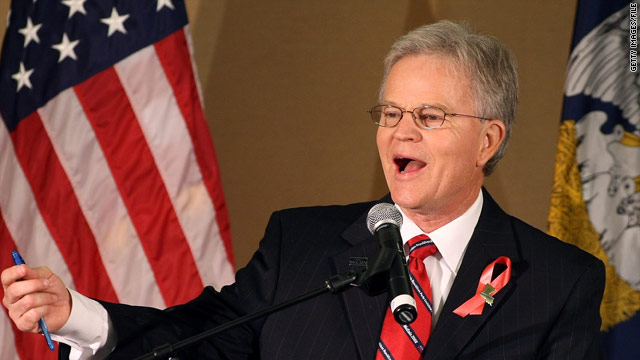 Former Louisiana governor to launch 2012 exploratory committee