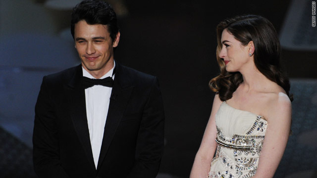 James Franco and Anne Hathaway don't hate each other