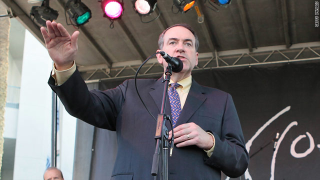 Poll: Huckabee leads in the South
