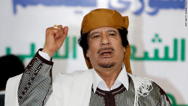 Gadhafi's greatest hits: Rhetoric more defiant as calls for ouster grow louder