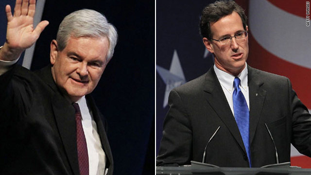 Fox News suspends contracts for Gingrich, Santorum