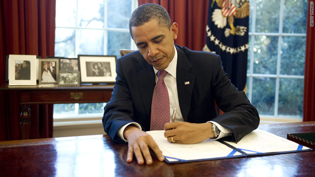 Obama signs government spending bill