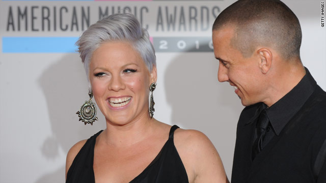 Pink pokes fun at Christina and Britney