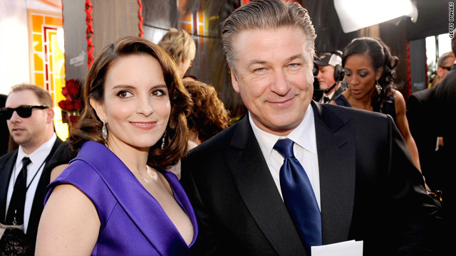Tina Fey knocks 'Two and a Half Men' in Alec Baldwin tribute