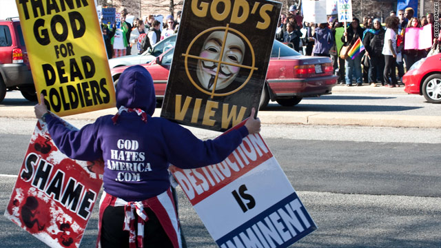Supreme Court rules for anti-gay church over military funeral protests