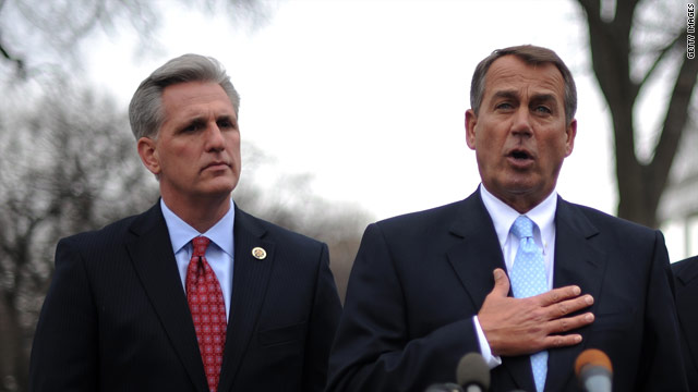 Top House Republican defends Boehner from Tea Party criticism