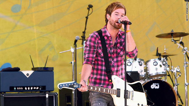 David Cook scores 'Idol' exit song