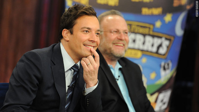 Jimmy Fallon gets his own Ben & Jerry's flavor