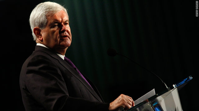 Gingrich affirms presidential intentions