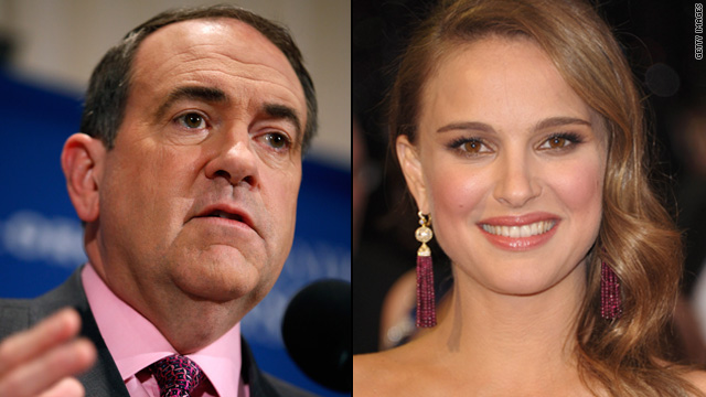 Mike Huckabee criticizes Natalie Portman for being pregnant and unwed