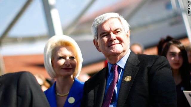 Gingrich forms political organization with the IRS