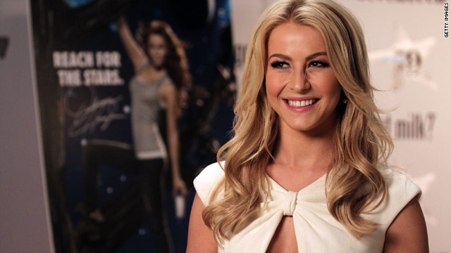 Julianne Hough joins Tom Cruise in 'Rock of Ages'