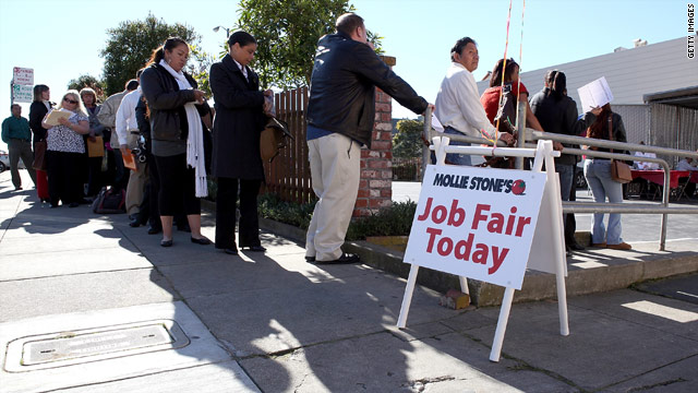 February jobs report: Unemployment falls again