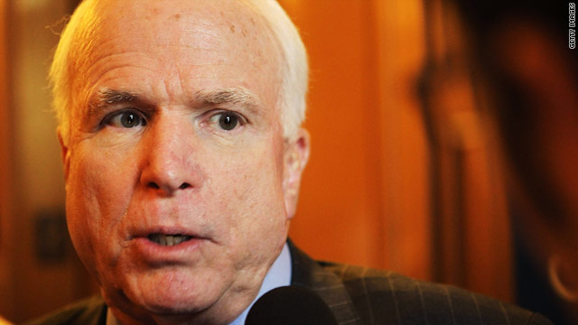 McCain v. Pentagon: getting personal over Libya debate