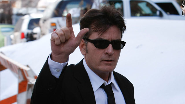 Mark your calendar: 'Charlie Sheen Night' at hockey game