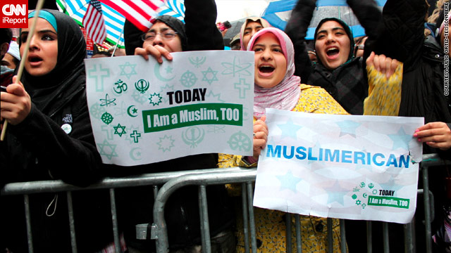 Protesters rally in NY ahead of hearings on radical Islam