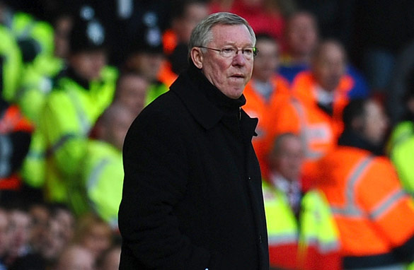 Alex Ferguson has seen his previously unbeaten Manchester United team slip to three defeats in their last five games.