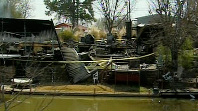 Six people trapped, killed, in mobile home blaze after party