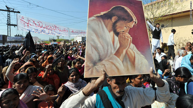 Pakistan's Christians mourn, and fear for their future