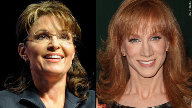 Sarah Palin calls Kathy Griffin a '50-year-old bully'