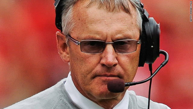 Ohio State's Tressel fined, suspended two games