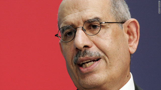 ElBaradei says he will run for president of Egypt