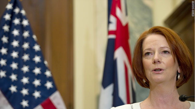 Australia's prime minister addresses joint meeting of congress