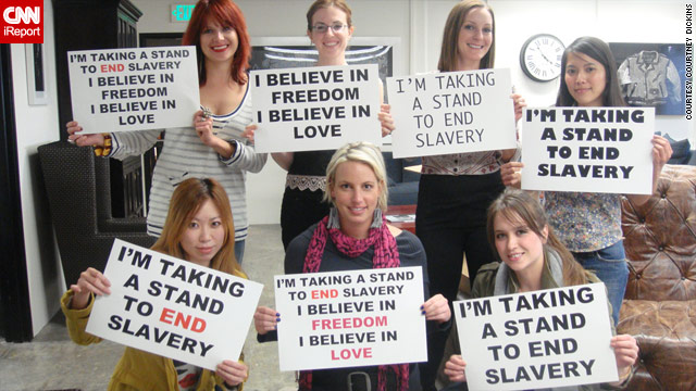 iReporters take a stand to end slavery