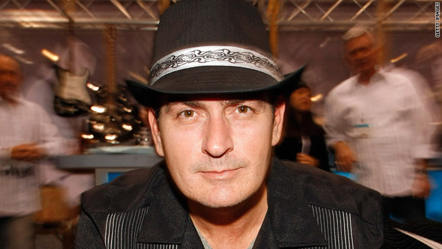 Charlie Sheen to get comic book treatment