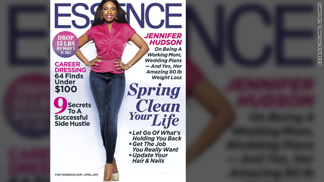 Jennifer Hudson talks family and new figure