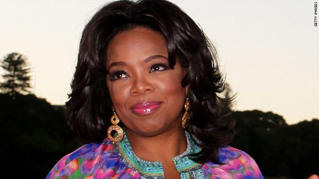 Oprah Winfrey shares her private diaries