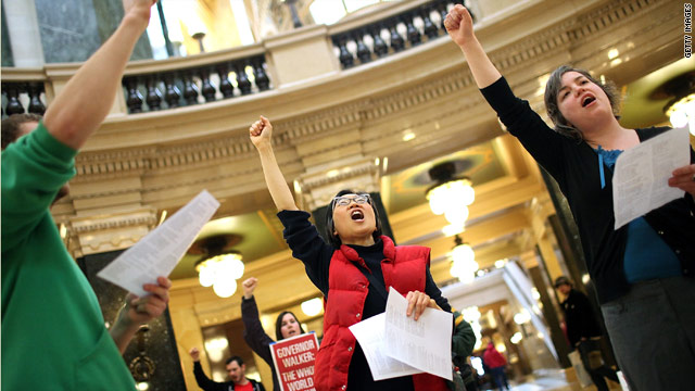 Voices of Wisconsin: Protesters stand firm against budget bill