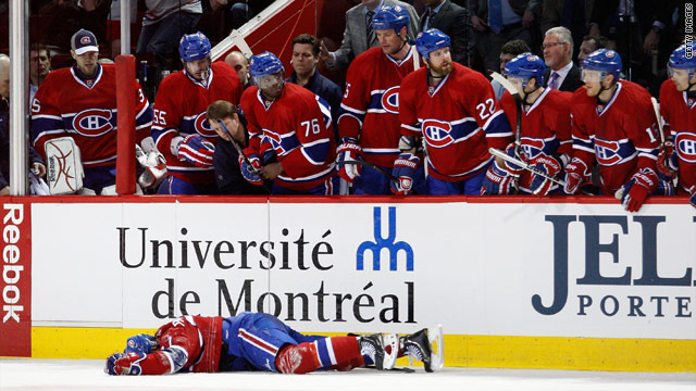 Montreal cops investigating hockey hit