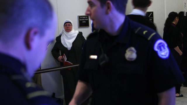 Who&#039;s testifying at the Muslim radicalization hearings