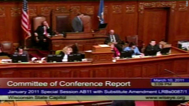 Wisconsin Assembly passes controversial labor bill
