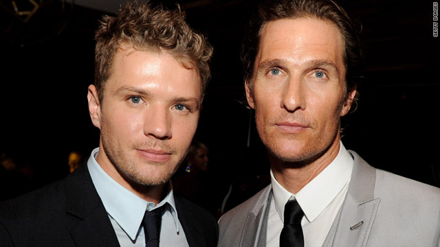 Ryan Phillippe, Matthew McConaughey offer mental health advice
