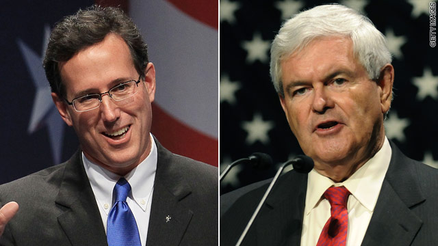 Santorum&#039;s got Gingrich&#039;s back?