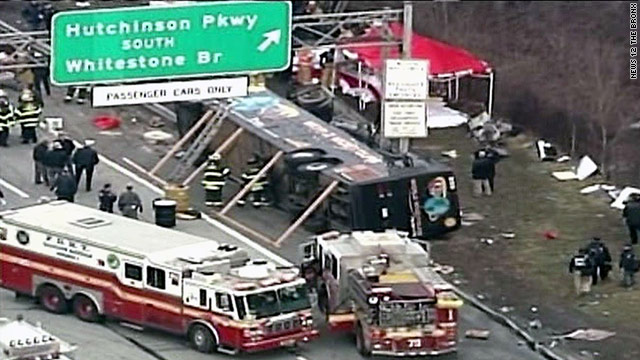 13 killed in New York City bus accident